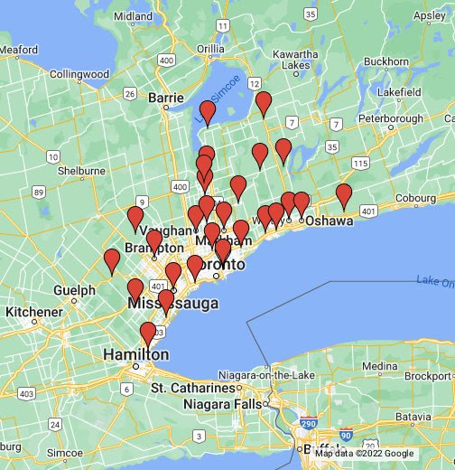 Spray Foam Kings Service Areas in Toronto and the GTA