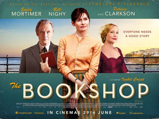 Resultado de imagem para movie poster The Bookshop