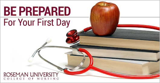 What You Can Expect From Your First Day of Nursing School | Roseman ABSN Program