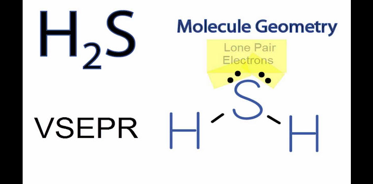 Molecular Geometry H2s Bond Angle