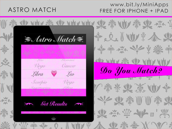 Astrology Match Check App