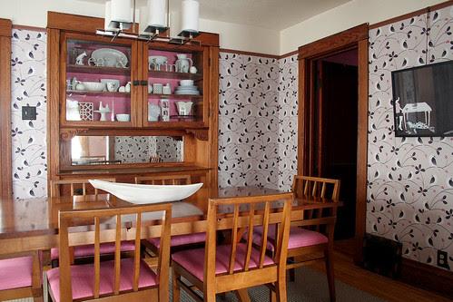 Tinta renova a sala de jantar