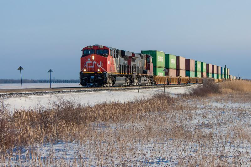 CN 2336 in Winnipeg