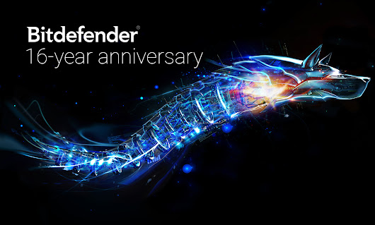 Bitdefender celebrates 16 years of making the world safer. Thank you for being part of it.