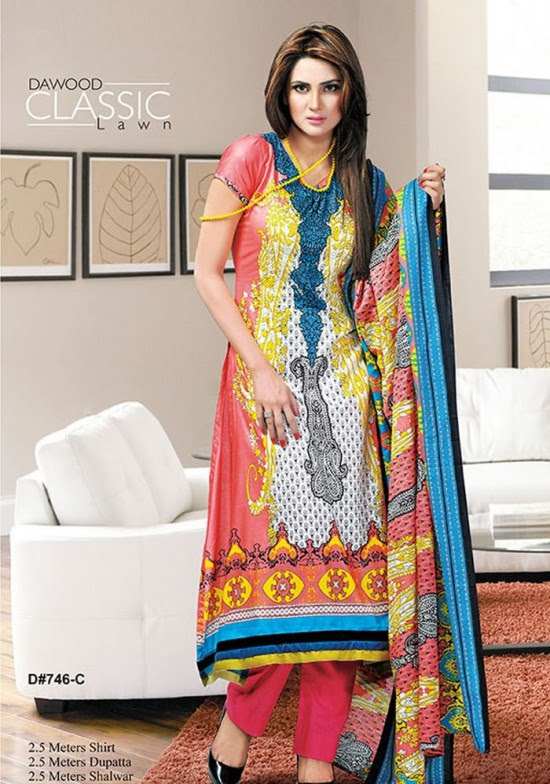 Dawood-Textile-Classic-Lawn-Collection-2013-New-Latest-Fashionable-Clothes-Dresses-7
