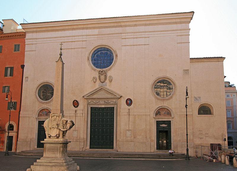 File:Santa Maria Sopra Minerva Rome.jpg
