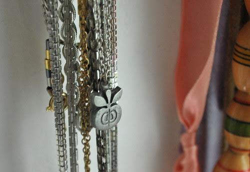 swedish apple necklace...