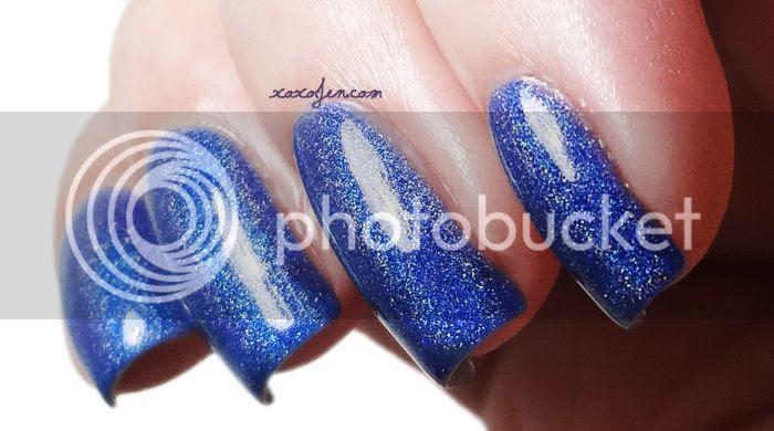 xoxo, Jen's swatch of Glitterdaze Twinkle Twinkle Dazzling Star nail polish