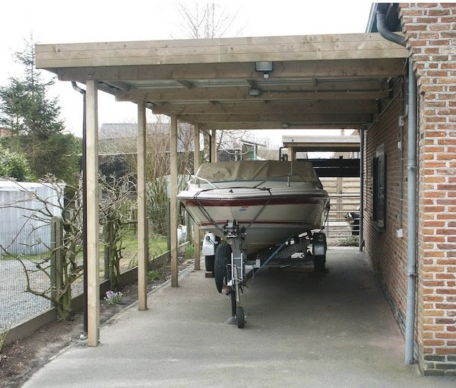 Wooden Lean To Carport Kits