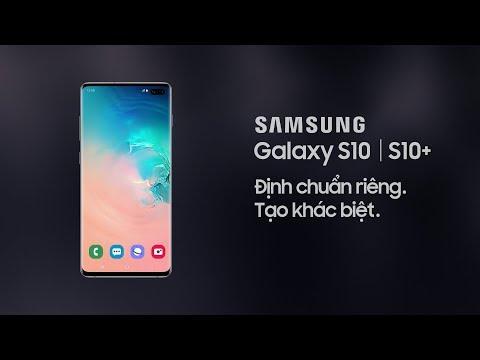 Galaxy S10|S10+: Chia sẻ pin không dây ấn tượng