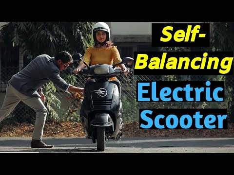 India's First Self Balancing Electric Scooter