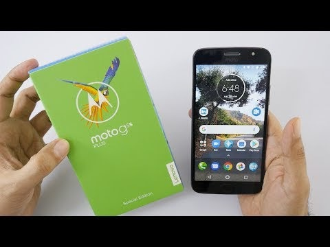 Moto G5s Plus with Dual Camera Unboxing & Overview