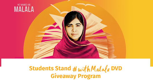 "Teachers Can Get A Free DVD Of ""He Named Me Malala"""