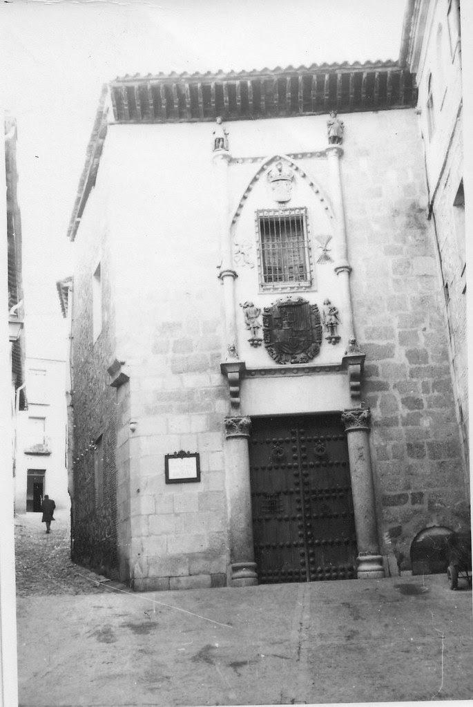 Posada de la Hermandad en febrero de 1963. Fotografía de Eduardo Butragueño Bueno