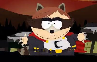 Eric Cartman as 'The Coon' in SOUTH PARK.