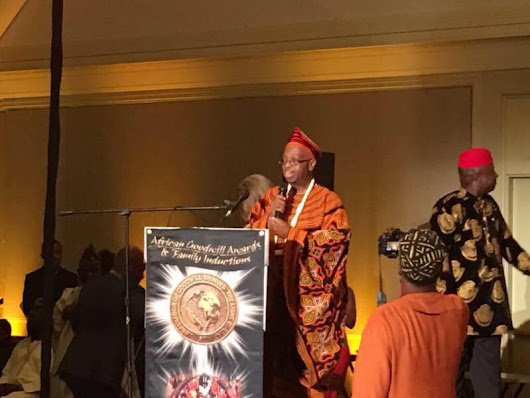 Dr. Mal Fobi Received Lifetime Achievement Award in USA
