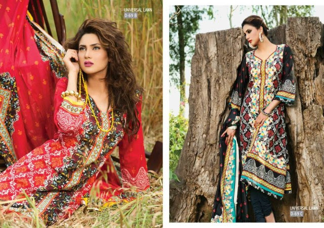 Sitara-Universal-Exclusive-Summer-Latha-Lawn-Collection-2013-Vol2-Famous-Actress-Model-Fiza-Ali-13