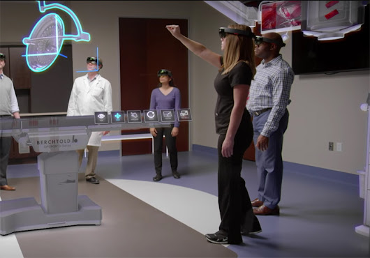 Stryker to Use Microsoft HoloLens Augmented Reality Goggles to Design ORs |