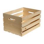 Houseworks 67140 Wood Storage Crate, Large