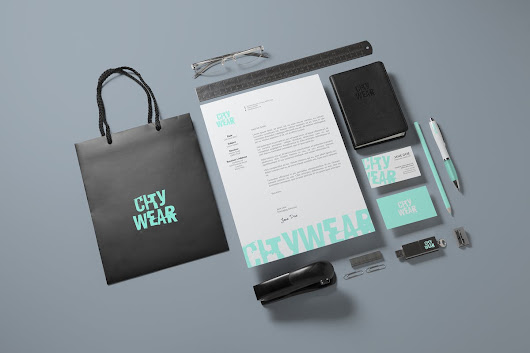 Corporate Branding / Identity Mock-up by vasaki on Envato Elements