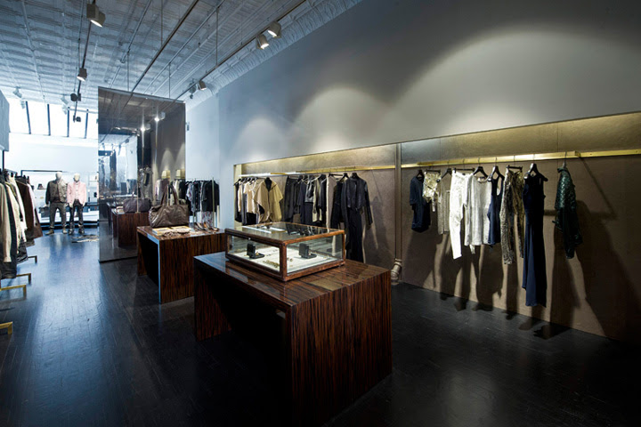 Diesel Black Gold store, New York » Retail Design Blog