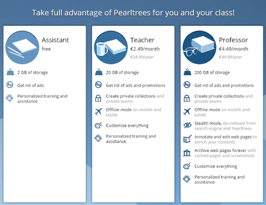 Pearltrees launches its offer for Teachers: take full advantage of Pearltrees for you and your class!