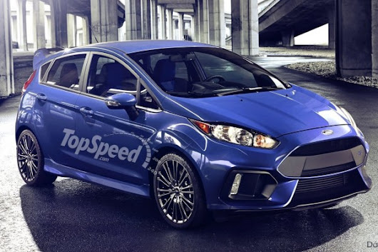 Rendered: 2017 Ford Fiesta RS – Insider Car News