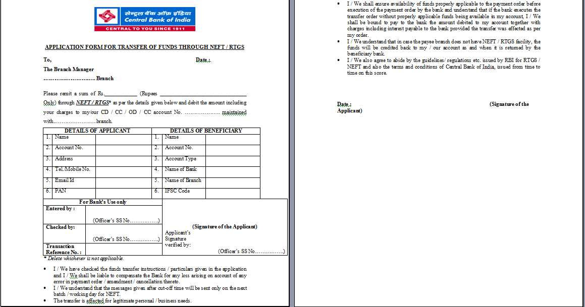 form 15h pdf central bank of india