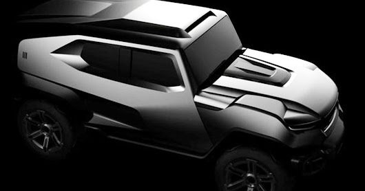 The Brutal Rezvani Tank Is A Military-Inspired SUV For The Apocalypse