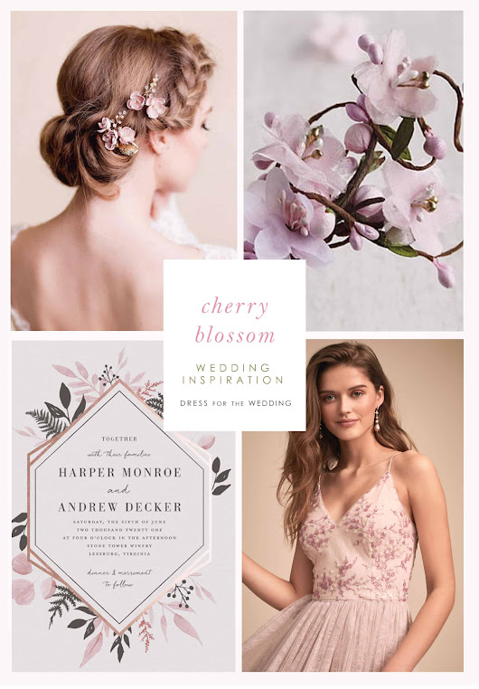 Cherry Blossom Wedding Ideas and Inspiration | Dress for the Wedding