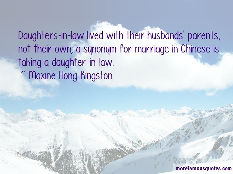 Quotes About A Daughter In Law Top 44 A Daughter In Law Quotes From