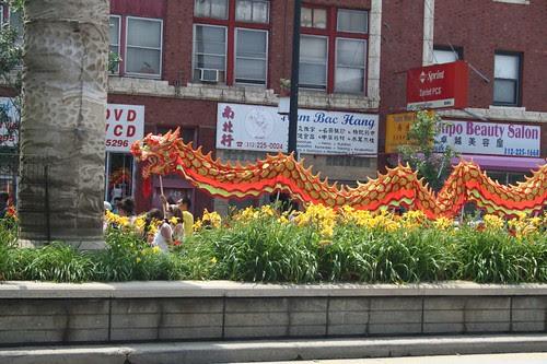 Dragon parade!