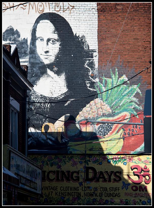 Mona Lisa at Kensington Market