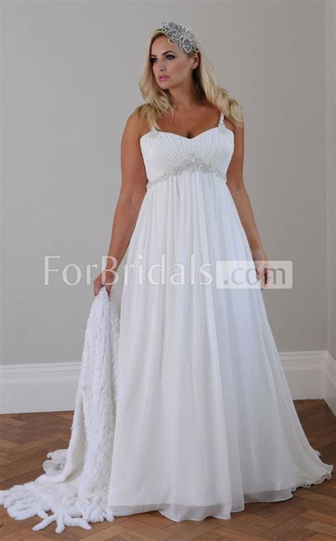 Details about New White/ivory Bridal Gown Chiffon Wedding
