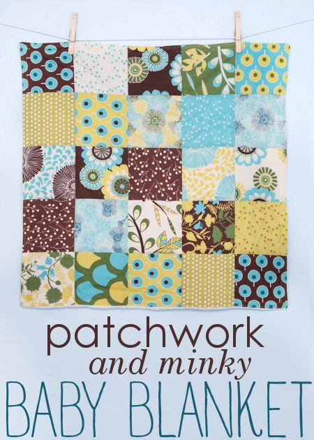 Stitched By Crystal Tutorial Patchwork And Minky Baby