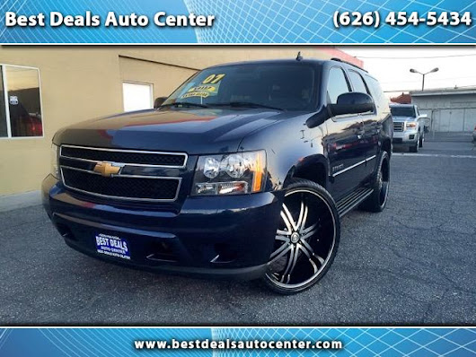 Used 2007 Chevrolet Tahoe for Sale in El Monte CA 91733 Best Deals Auto Center