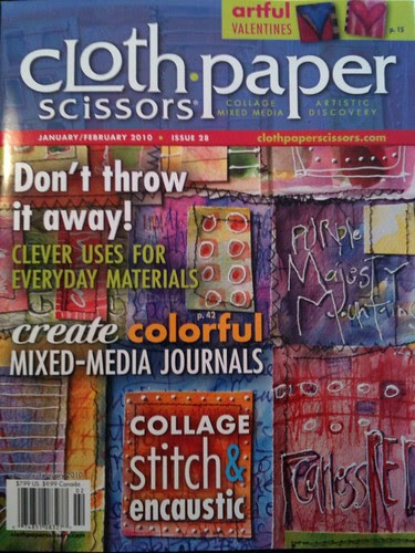Cloth Paper Scissors! Published In!