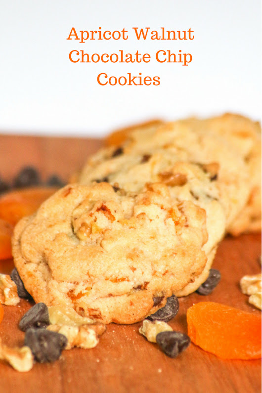 Apricot Walnut Chocolate Chip Cookies - Desserts Required