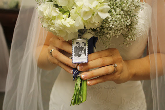 Accessories Photo Frame Rectangle Bouquet Charm 2250582 Weddbook