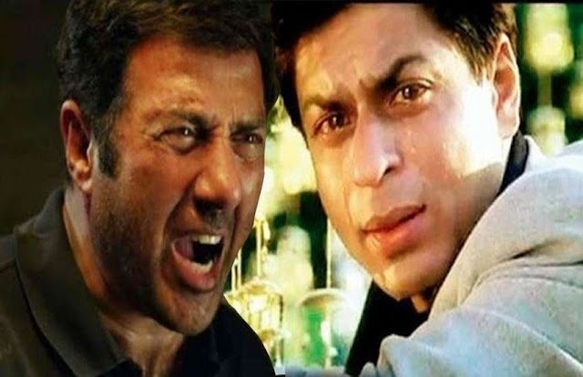 शाहरुख खान पर बुरी तरह भड़क गए थे सनी देओल, गुस्से में फाड़ दी थी पैंट