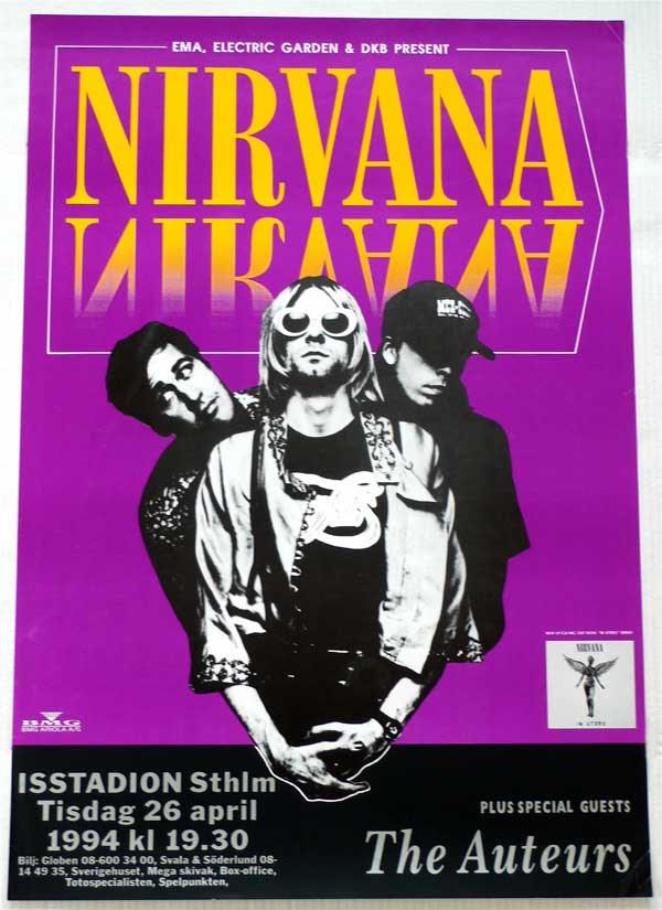 Nirvana – Last Ever Concert Poster