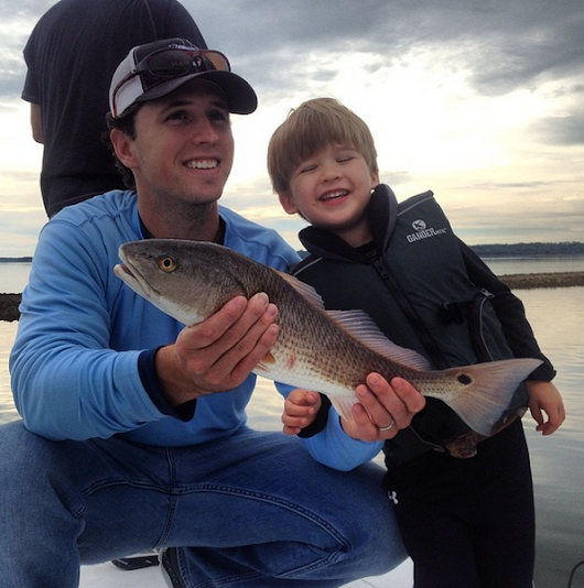 Champions Rock Marsh Wear: Buster Posey Hits the Water in MWC                           | Marsh Wear