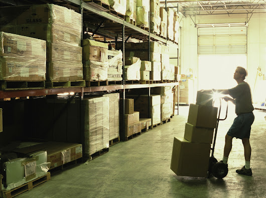One-third of warehouses don't have a warehouse management system