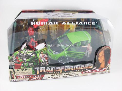 Transformers Skids RotF Human Alliance - caja