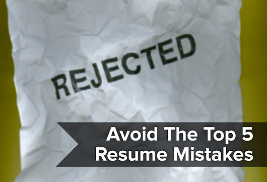 Resumonk | Avoid the top 5 resume mistakes