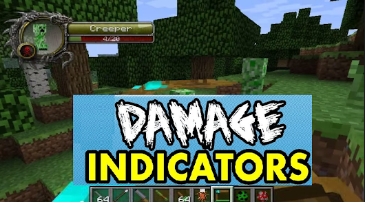 Damage Indicators Mod 1.8 - Minecraft mod