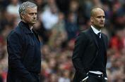 Man United Vs Man City, Guardiola Masih Unggul atas Mourinho