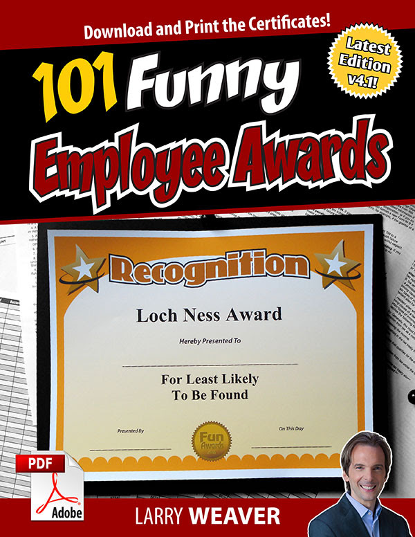 101 Funny Employee Awards