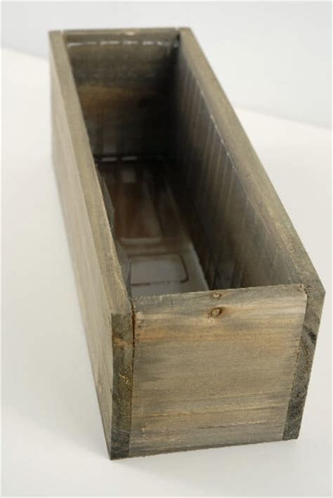 Wood Planter Box 11.75 x 4