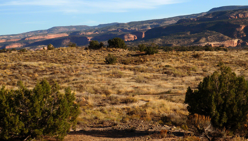 Northern terminus of the Colorado Plateau